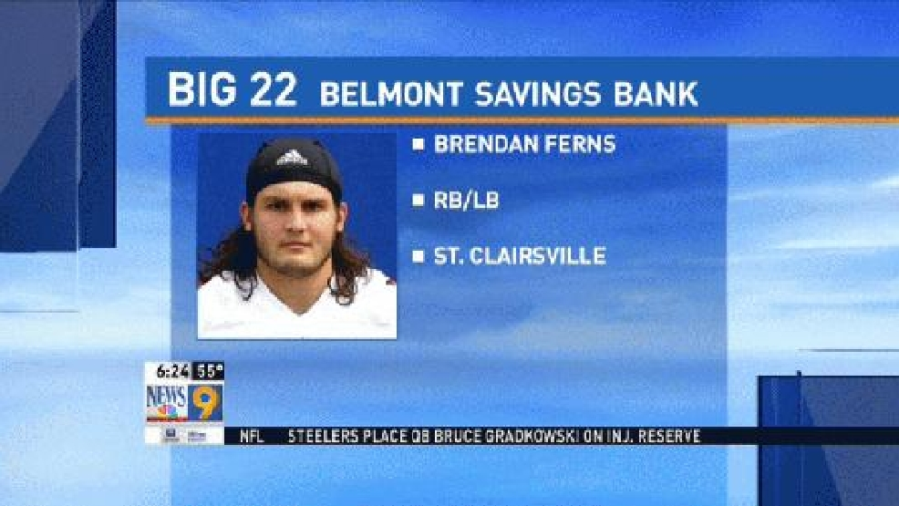 Preseason Big 22: Brendan Ferns, St. Clairsville