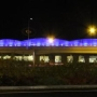 Woodburn honors officers who died in the line of duty with blue overpass lights