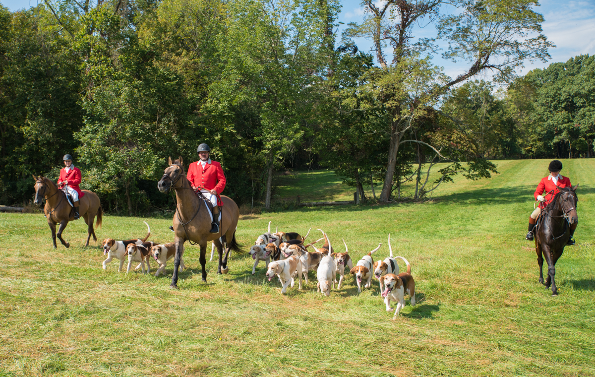 Traditionally dressed fox hunters at the Camargo Hunter Trials (10.6.18) / Image: Sherry Lachelle // Published: 10.31.18