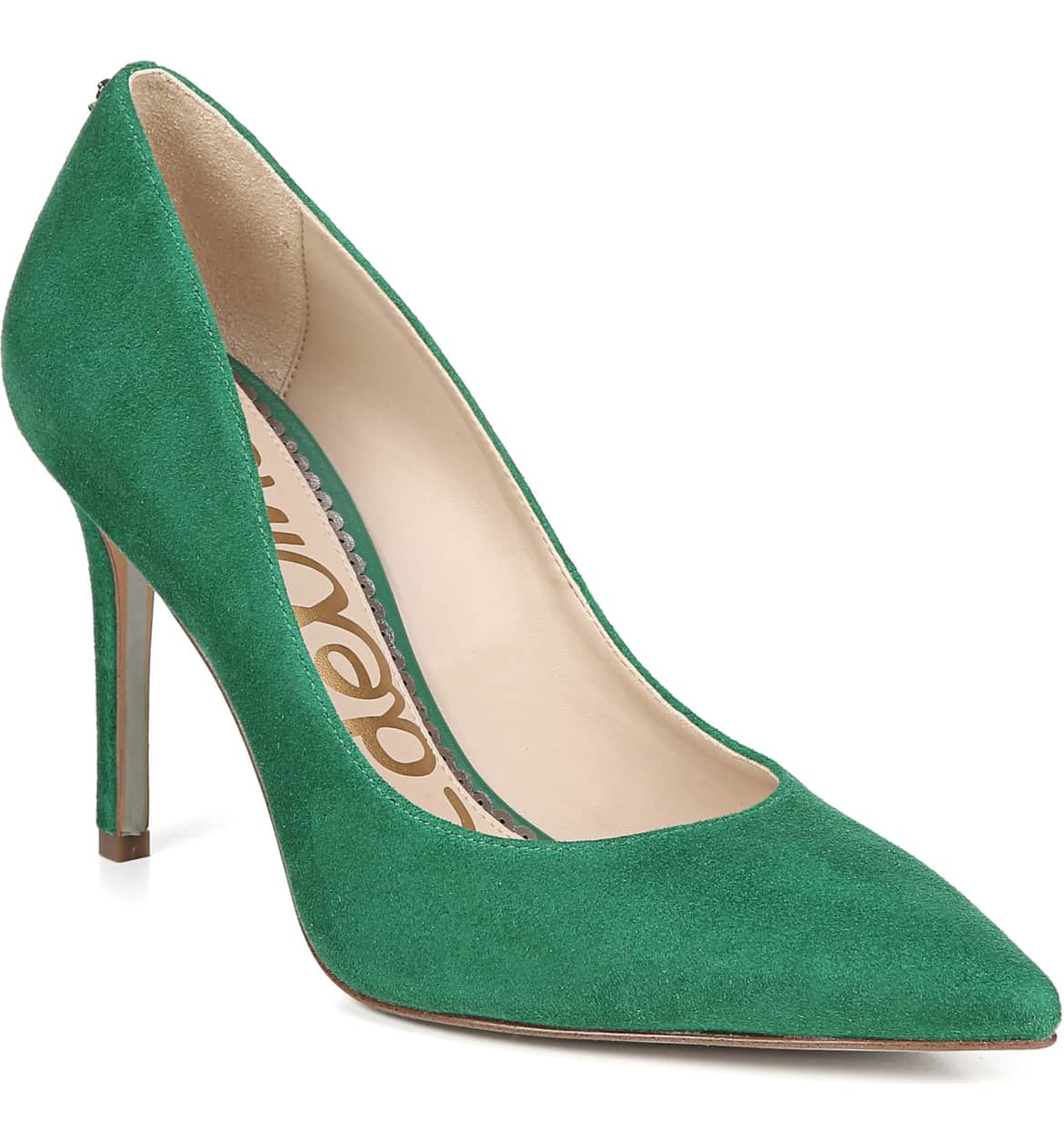 A classic stiletto adds leg-lengthening lift and timeless appeal to an elegant pointy-toe pump. $119{ }(Image: Nordstrom){ }