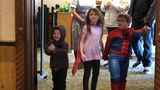Tiny superheroes take a break from fighting crime, grab lunch in Frankenmuth