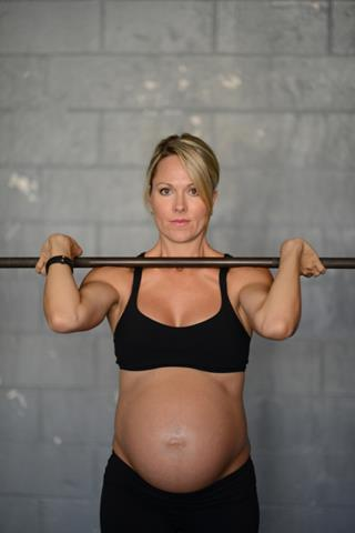 Every pregnancy is different and depending on the level of exercise pre-pregnancy, it's perfectly healthy to continue working out.