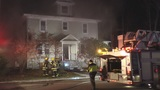 Firefighter injured in Barrington blaze