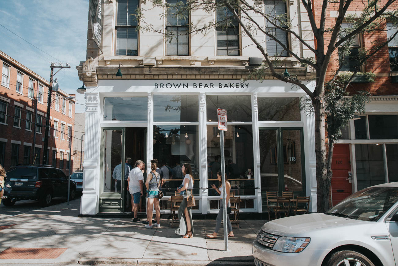 Brown Bear Bakery is a new Over-the-Rhine baked goods shop at the corner of 13th and Clay Streets. Every pastry is made from scratch using local ingredients. Additionally, the bakery offers seasonal treats. ADDRESS: 116 E. 13th Street (45202) / Image: Brianna Long // Published 8.17.23
