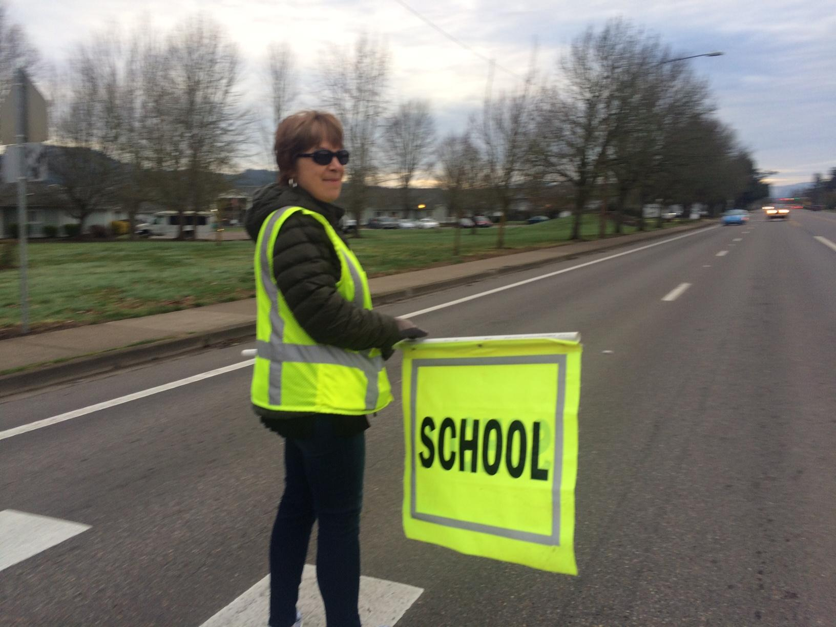 Laughton Elliott-DeAngelis is the Safe Routes to School Coordinator for Springfield Schools. He said it is critical to have a safety patrol program at certain schools where speeders are a problem. (SBG)