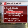 Next WeatherMaker: Rain moves in Wednesday night