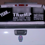 'F--- Trump' driver adds new sticker targeting Texas sheriff