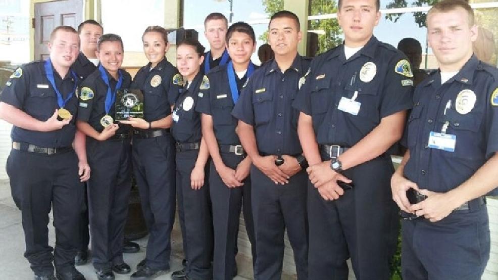 Porterville PD Explorers Bring Home 1st Place Trophy   KMPH