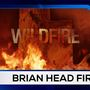 Morgan Saxton In Iron County With The Brian Head Wildfire