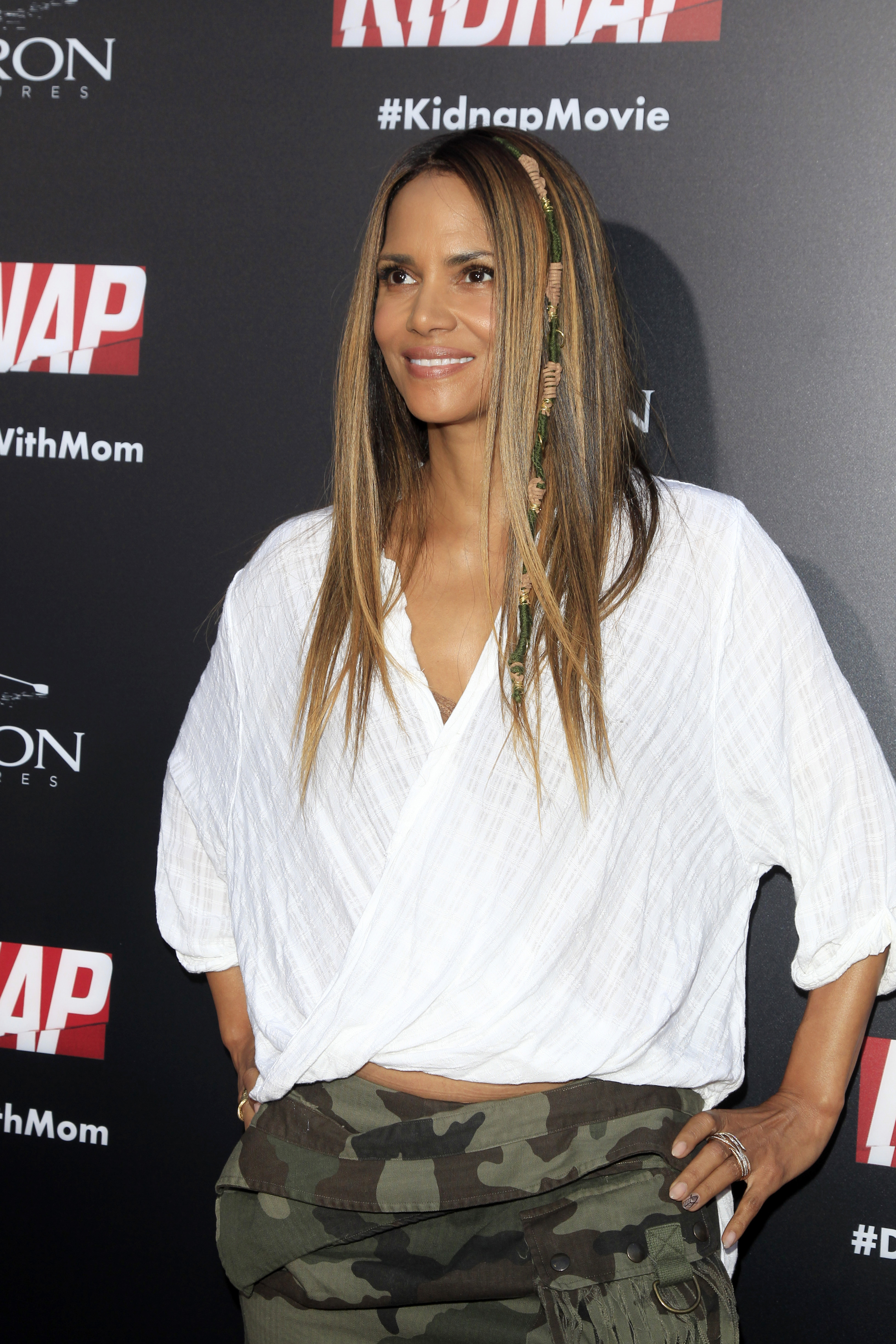 """Kidnap"" Premiere at the ArcLight Theater on July 31, 2017 in Los Angeles, CA  Featuring: Halle Berry Where: Los Angeles, California, United States When: 01 Aug 2017 Credit: Nicky Nelson/WENN.com"