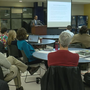First of two community meetings held to discuss artificial turf