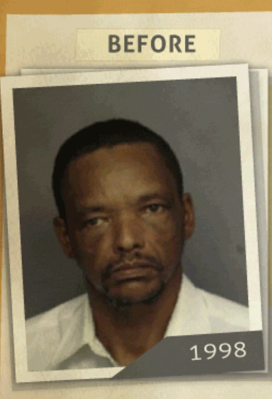 This 1998 photo was taken of a man who reportedly had a 'purchase of cocaine ' charge. (Photo, info from rehabs.com/)