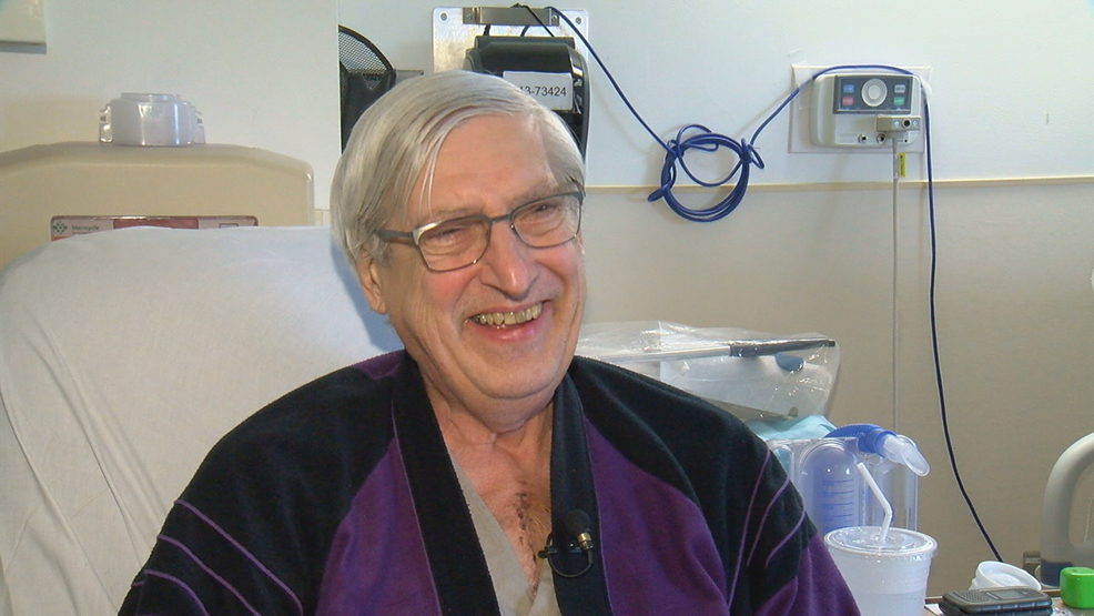After 2 years of waiting man receives life saving heart transplant