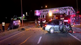 Man involved in wrong way crash suspected of driving drunk