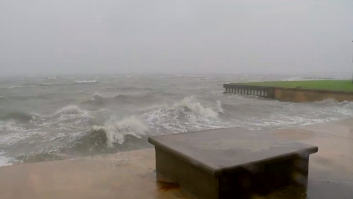 Houston seawall (KTRK)