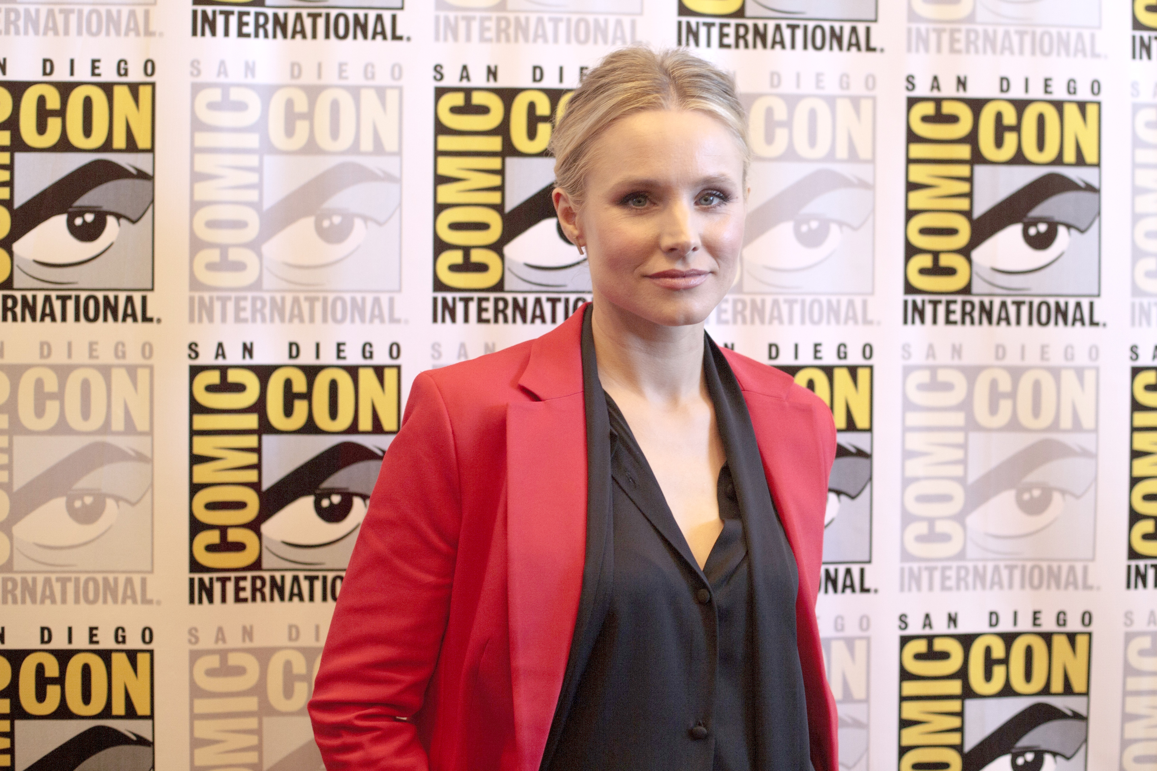 2018 San Diego Comic Con - The Good Place - PhotocallFeaturing: Kristen BellWhere: San Diego, California, United StatesWhen: 21 Jul 2018Credit: Tony Forte/WENN