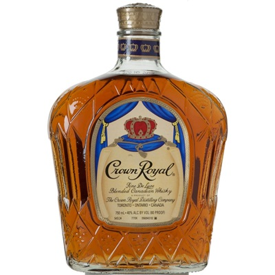 <p>Crown Royal Canadian Whiskey</p>
