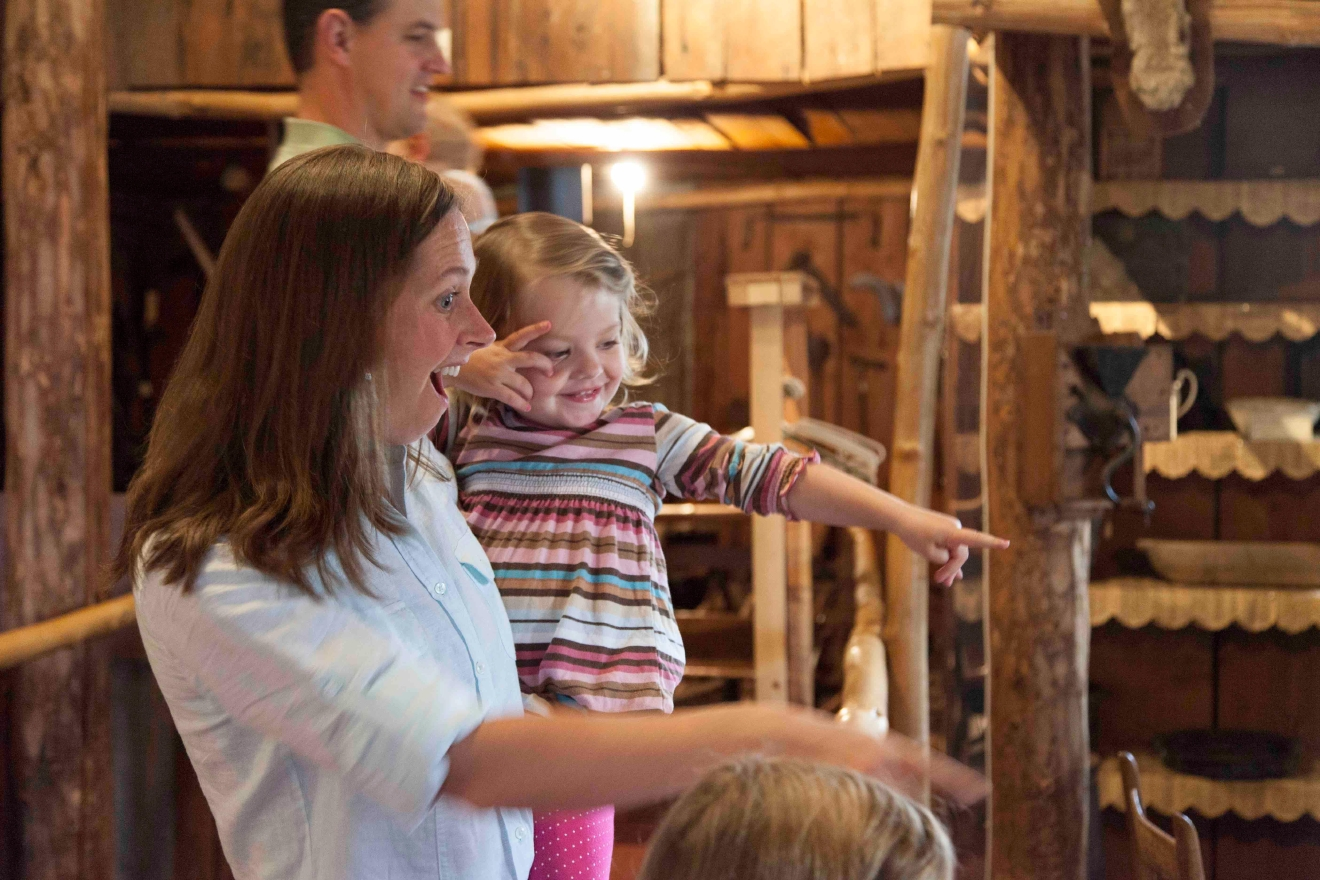 Kids and adults alike will enjoy a visit to the Tillamook County Pioneer Museum.
