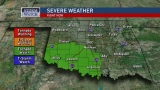 Tornado watch issued for southwest Oklahoma until late Tuesday