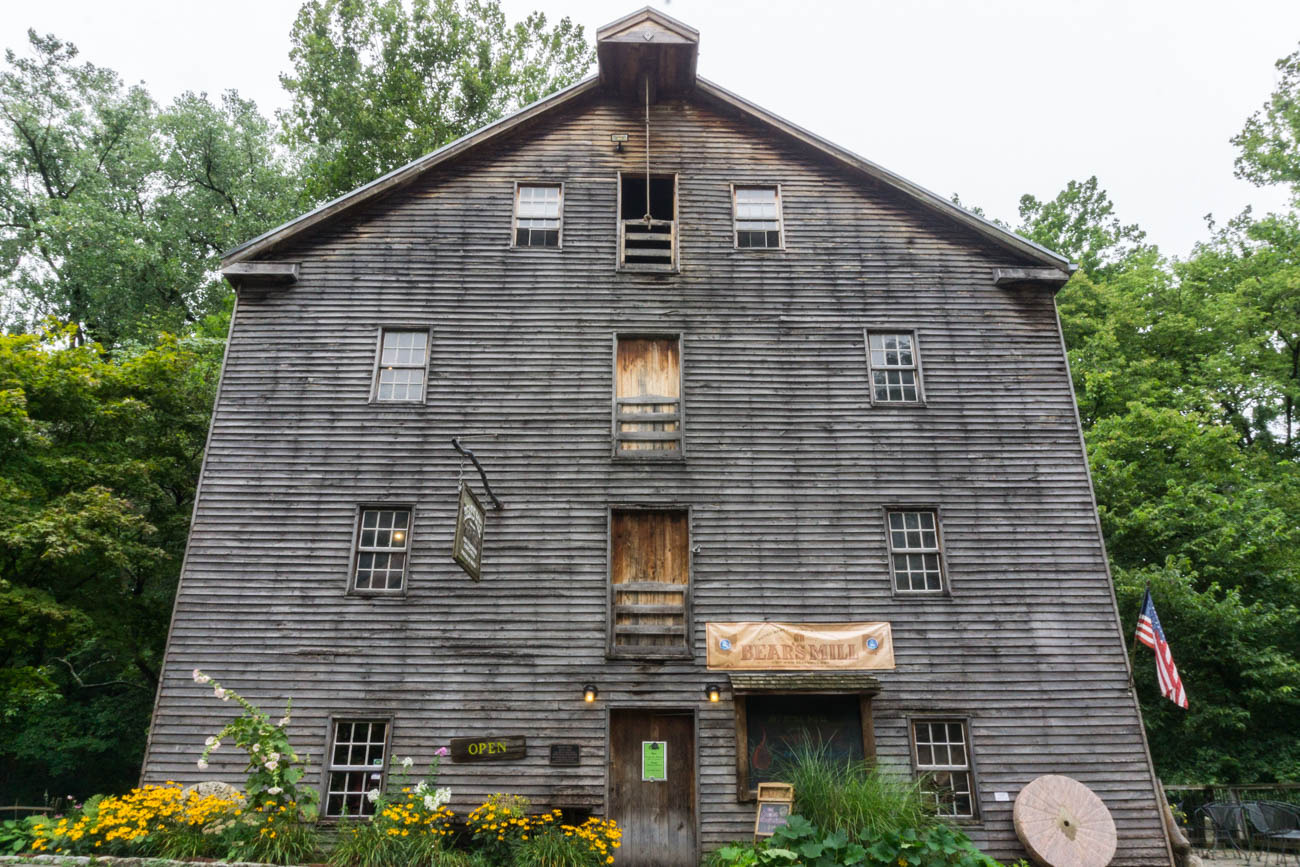 Established 1849, Bear's Mill is one of the only water-powered mills left in Ohio. The original framing of the building continues to support the mill just as it did when the mill officially began producing flour and meal. Surrounded by natural beauty, Bear's Mill also has a marketplace that occupies the first floor of the building, selling products made within the mill itself. It is 90 miles north of Cincinnati. ADDRESS: 6450 Arcanum Bears Mill Road, Greenville, OH 45331 / Image: Sarah Vester // Published: 8.7.17