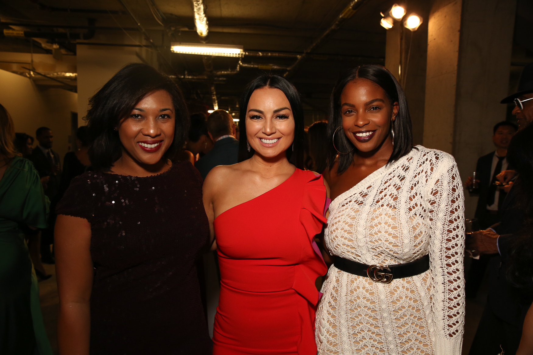 From left, Kyndall Douglas, Vivien Agbakoba and Stacey Rusch.{ }(Amanda Andrade-Rhoades/DC Refined)