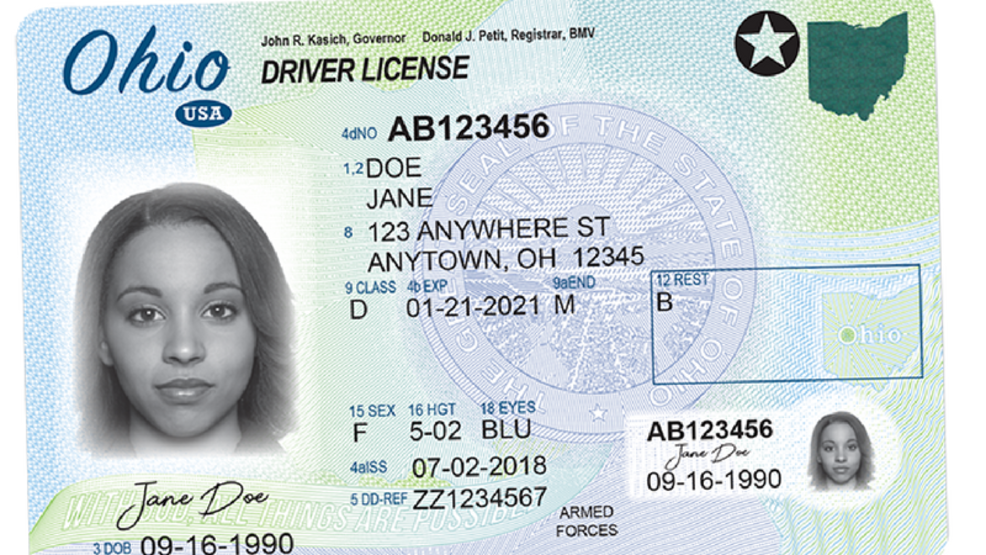 New Ohio Licenses Will Be Mailed Starting This Summer To