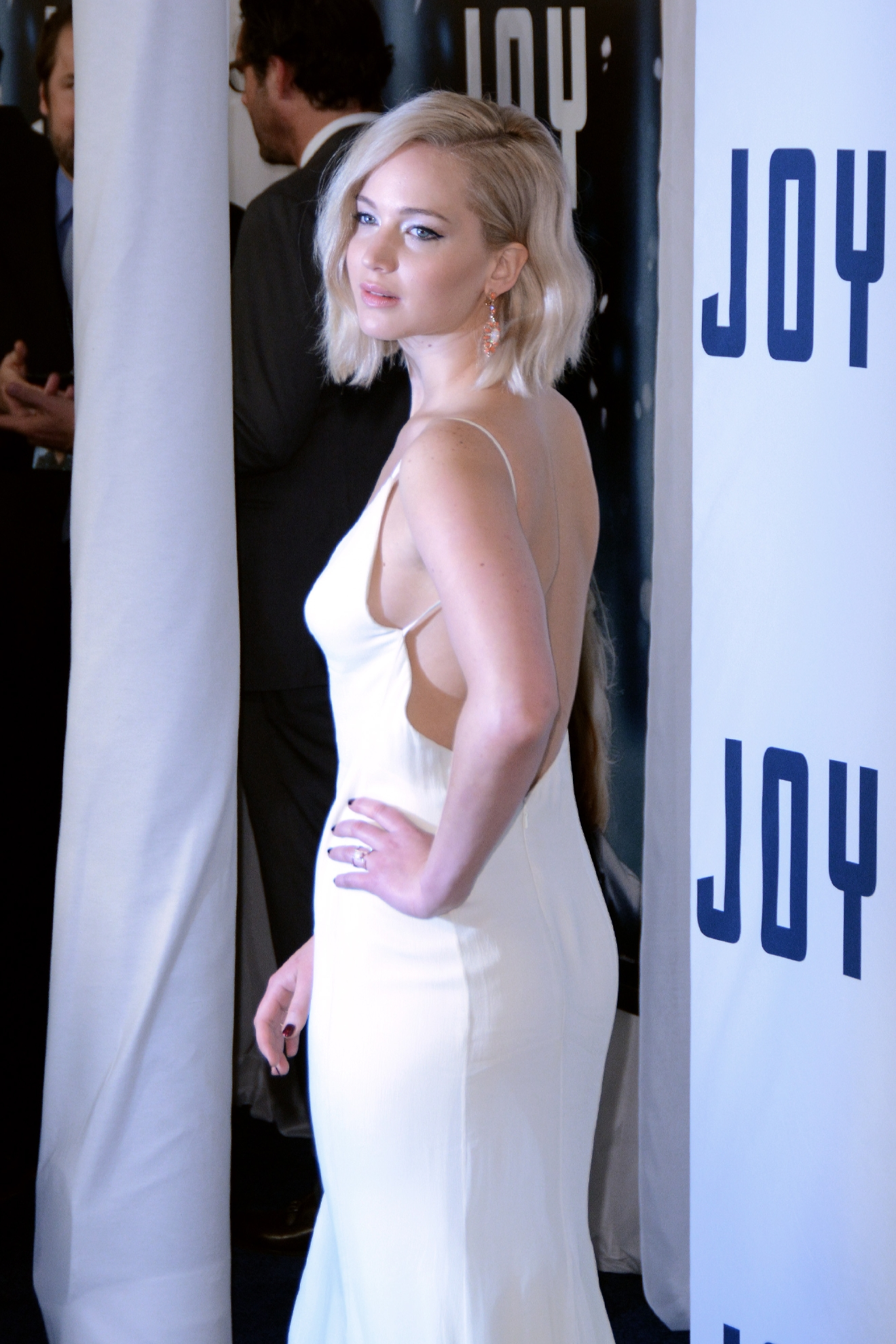 New York premiere of 'Joy'- Red Carpet Arrivals  Featuring: Jennifer Lawrence Where: New York, New York, United States When: 13 Dec 2015 Credit: Ivan Nikolov/WENN.com