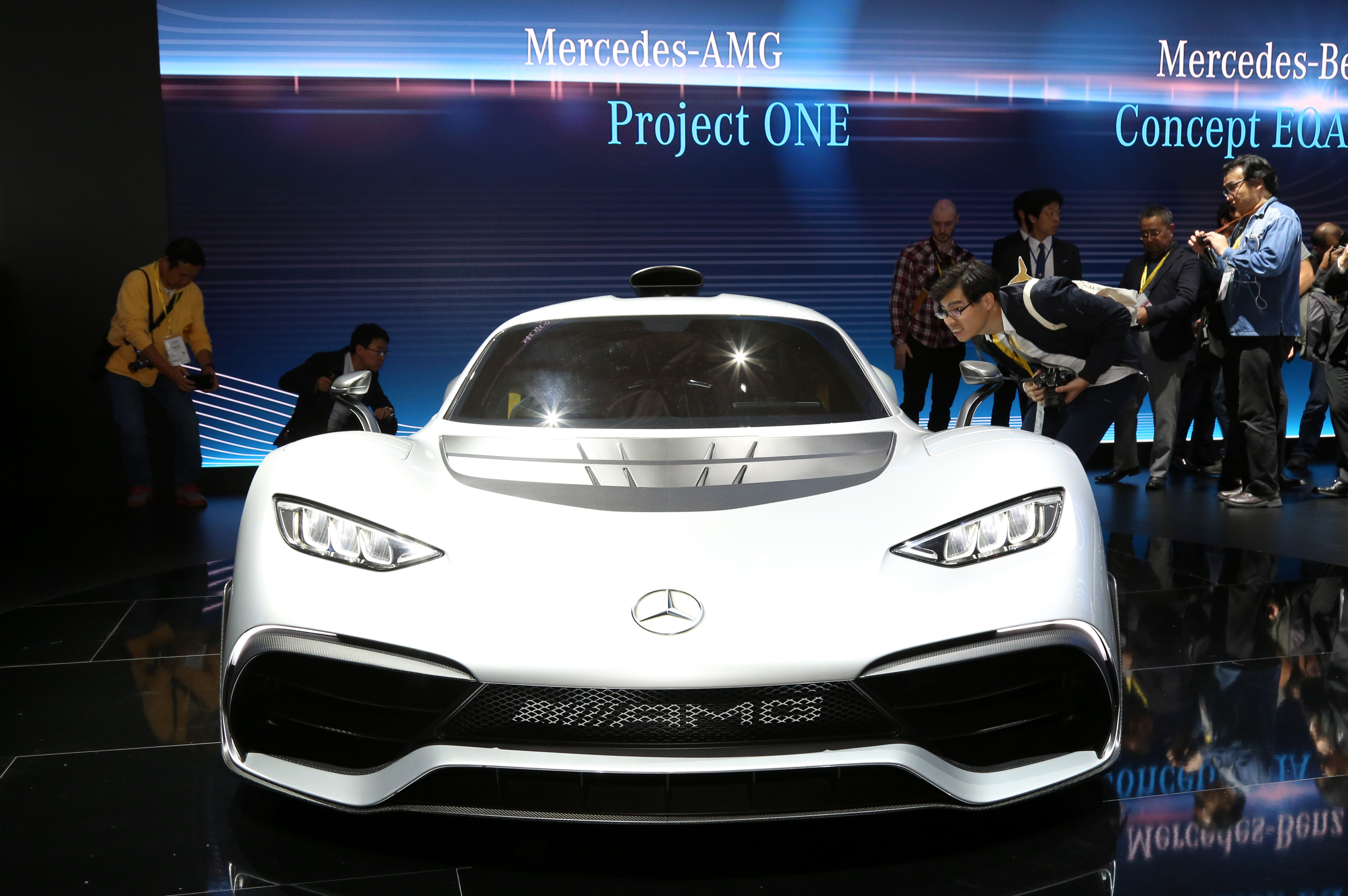 Tokyo Motor Show 2017  Featuring: Mercedes-AMG Project One Where: Tokyo, Japan When: 25 Oct 2017 Credit: Yukio Tomita/Future Image/WENN.com  **Not available for publication in Germany**