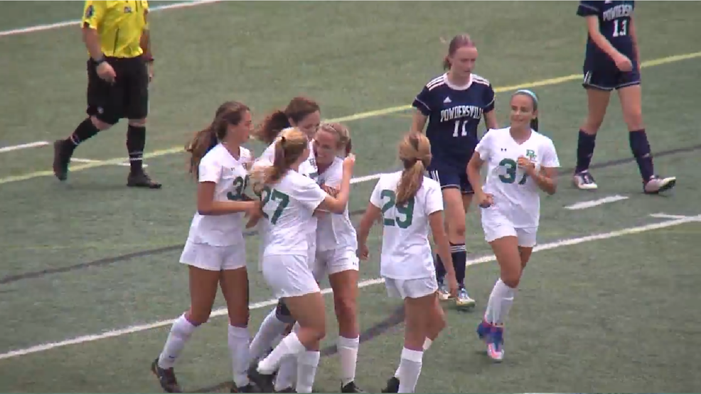 Bishop England girls win state soccer championship. (WCIV).png