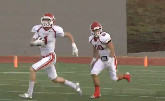 Sulphur (3-1) lost to John Marshall 51-21 in week three of high school football on Friday, Sept. 16, 2016 at Taft Stadium in Oklahoma City. (KOKH)