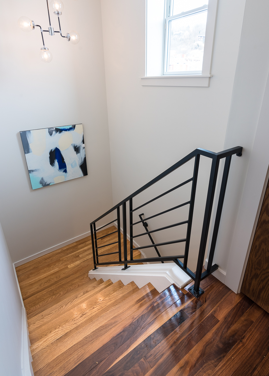 Staircase to the third floor / Image: Phil Armstrong, Cincinnati Refined // Published: 2.17.19