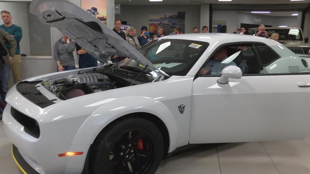 Worlds fastest car revs up revenue for local charities | WPBN