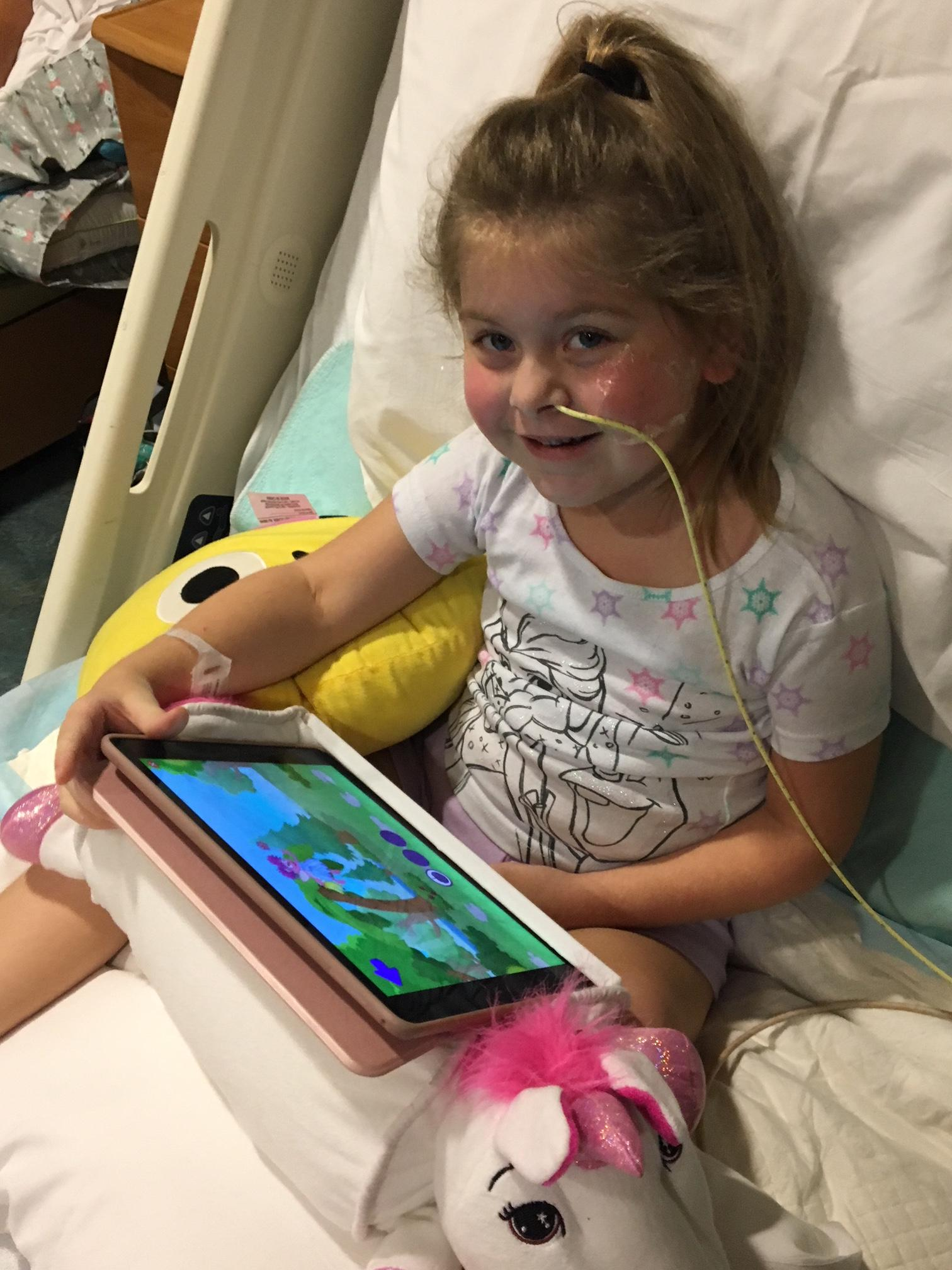 (IMG: GoFundMe) Community rallies behind Orange Beach kindergartner battling Polio-like illness