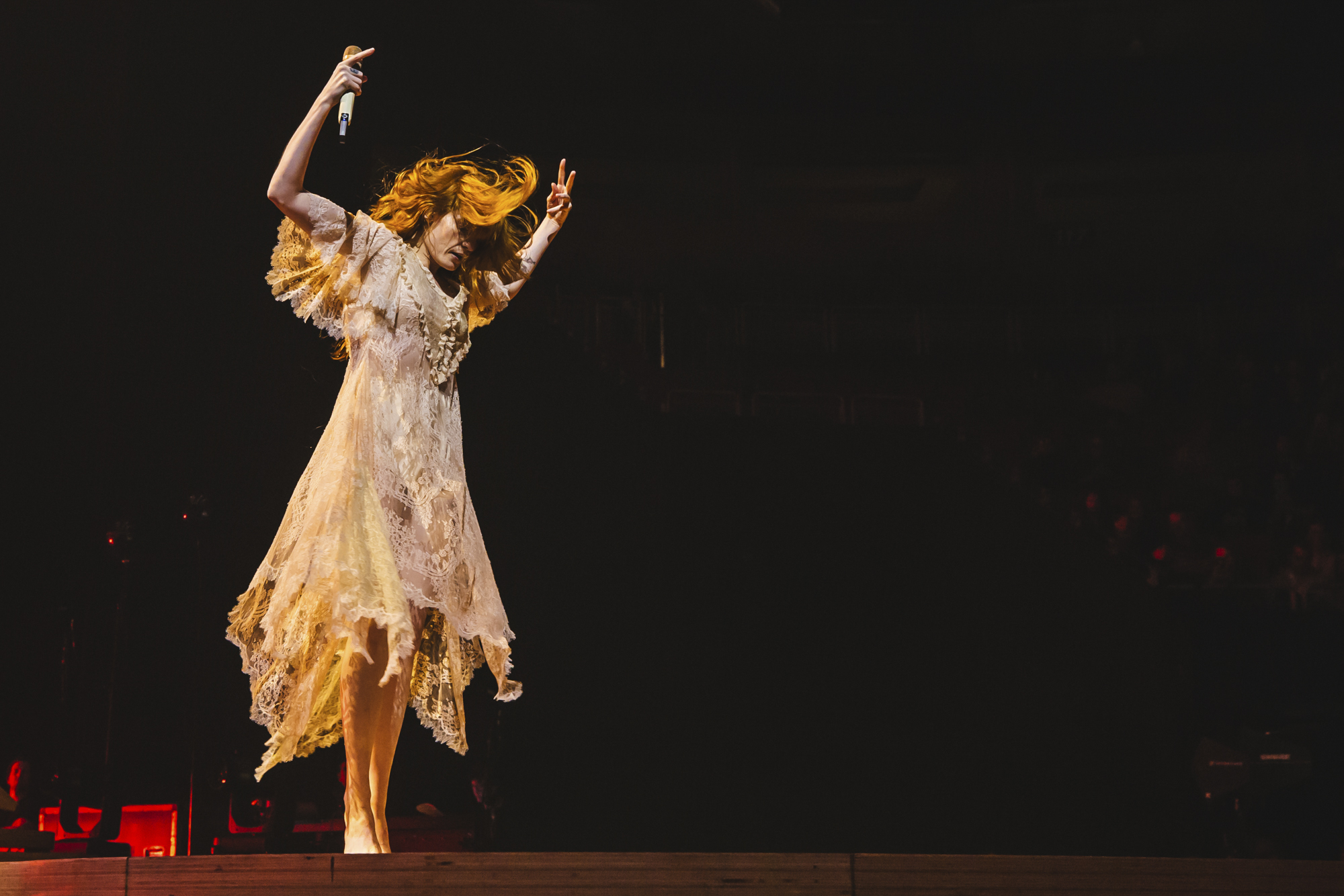"Florence and the Machine, St. Vincent, and Lizzo kicked off their ""High As Hope"" tour tour in Seattle last night (Sept. 10) at the key Arena. (Image: Sunita Martini / Seattle Refined){ }"