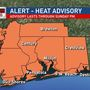 Alert: Dangerous heat and risk for strong storms