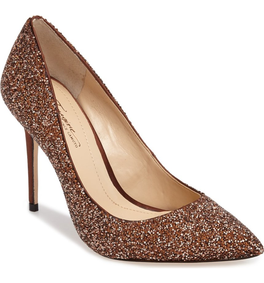These 'Crystal Embellished Pumps'.  That is all. $169.95 (Image: Nordstrom)