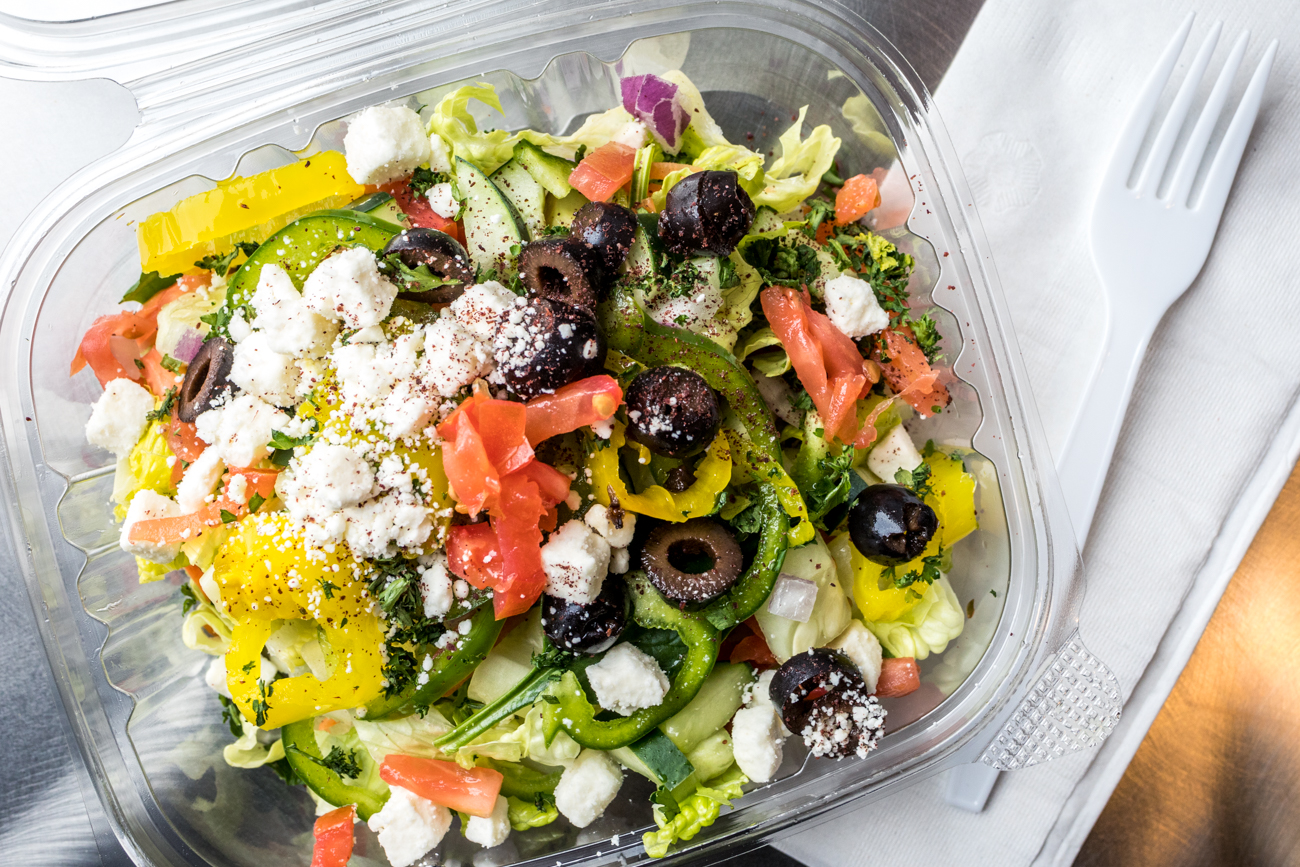 Greek salad / Image: Catherine Viox{ }// Published: 1.26.20