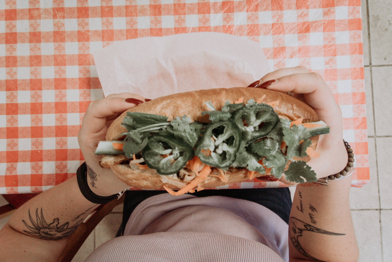 The Chicken Banh Mi / Image: Brianna Long // Published 10.3.17