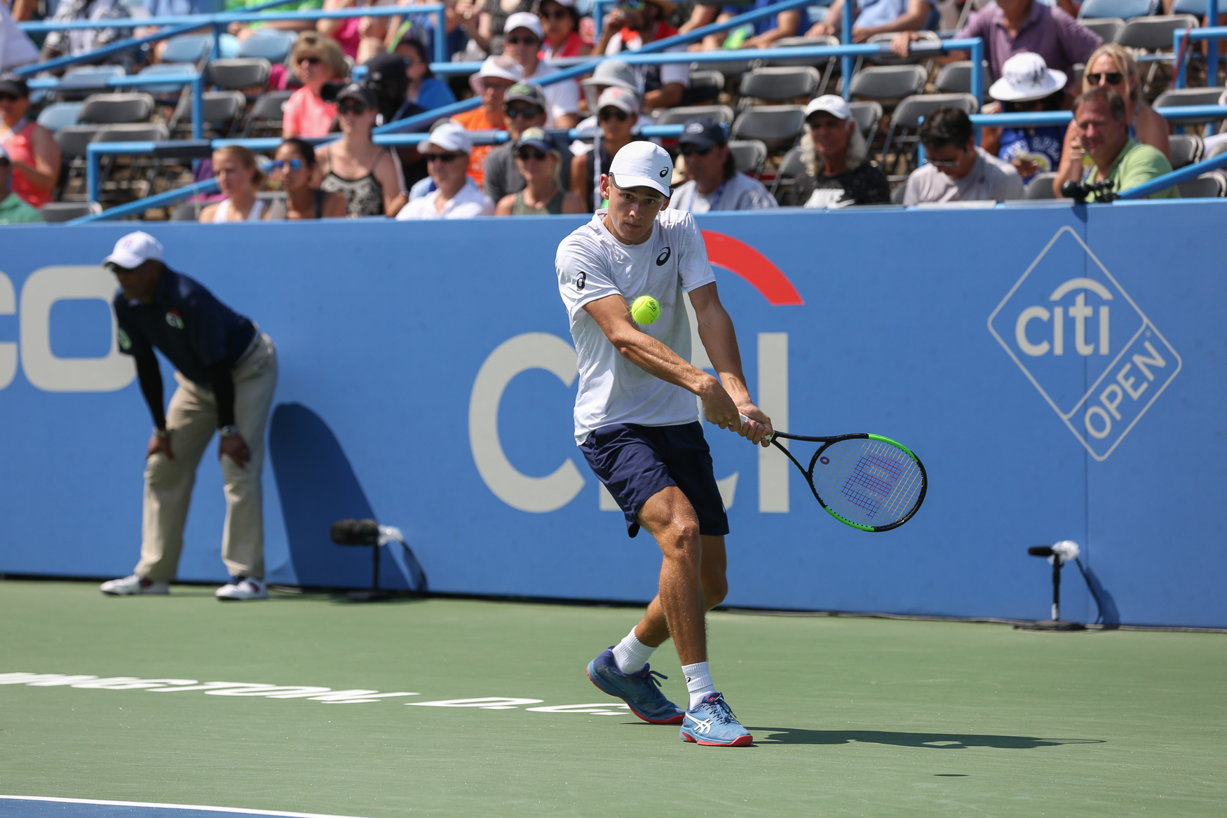 In the men's singles,{ }Alexander Zverev of Germany beat out{ }Alexander Zverev of Australia for his second Citi Open title. (Amanda Andrade-Rhoades/DC Refined)