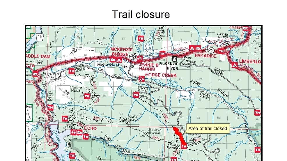 A Lightening Caused Fire In The Willamette National Forest Caused The Forest Service To Close A Mile Of The Olallie Trail Photo Courtesy U S Forest