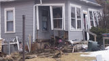 Car crashes into home on Sioux City's west side