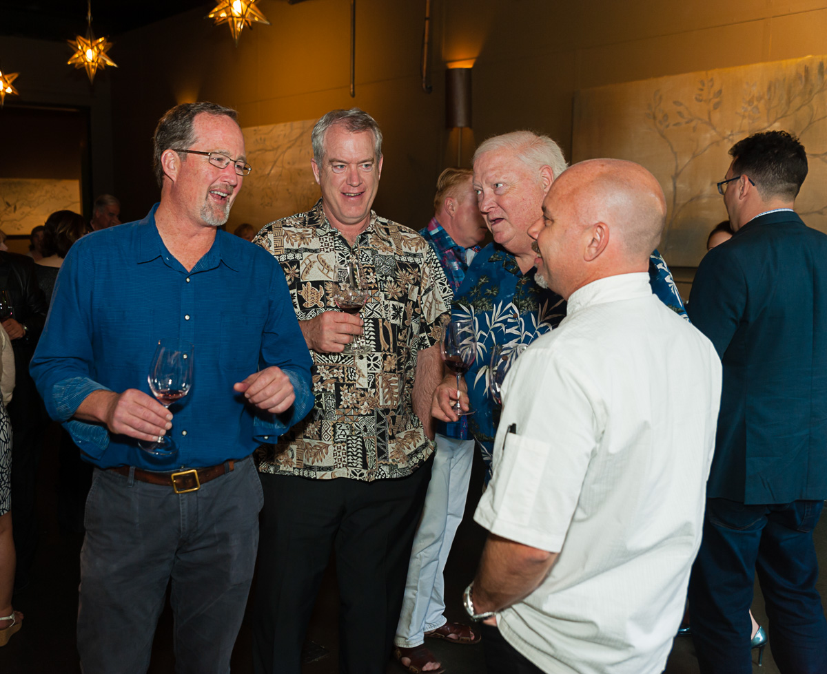 Winemaker John Bigelow at the winemaker dinner at JM Cellars (Image: Courtesy Richard Duval)