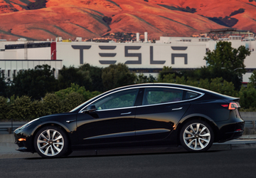 Tesla provides first look at cheaper Model 3 sedan