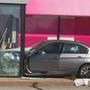 Car crashes into Johnston store