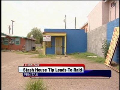 Stash house tip leads to raid in Penitas