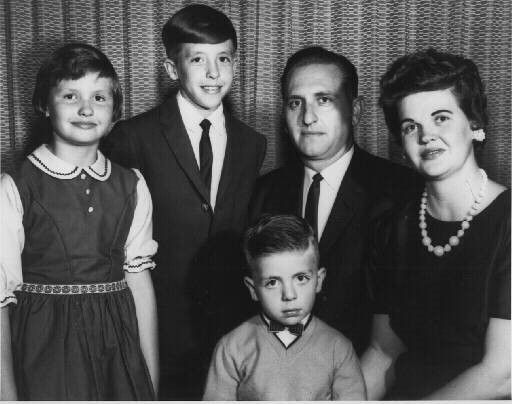 Young Monson family of Ann, Tom, Clark and President and Sister Monson in the 1960s.{&amp;nbsp;}(Photo: MormonNewsroom.org)<p></p>