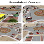 Roundabout construction at Edgemere-Rich Beem intersection to start in several weeks