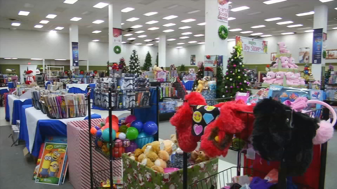 It's the most wonderful time of the year! And, starting Wednesday night, the Ingles Magical Christmas Toy Store at the Westgate Shopping Center, is officially open! (Photo credit: WLOS Staff)