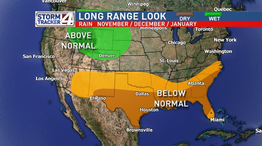The National Oceanic and Atmospheric Administration, or NOAA, is out with a long term winter forecast for the Valley.