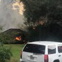 Lee CountyFire Department battles blaze on Kinchafoonee Creek Road